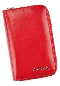 Portfel damski Pierre Cardin 503 YS520.1 CZERWONY. Kolor: czerwony. Materiał: skóra. Wzór: gładki