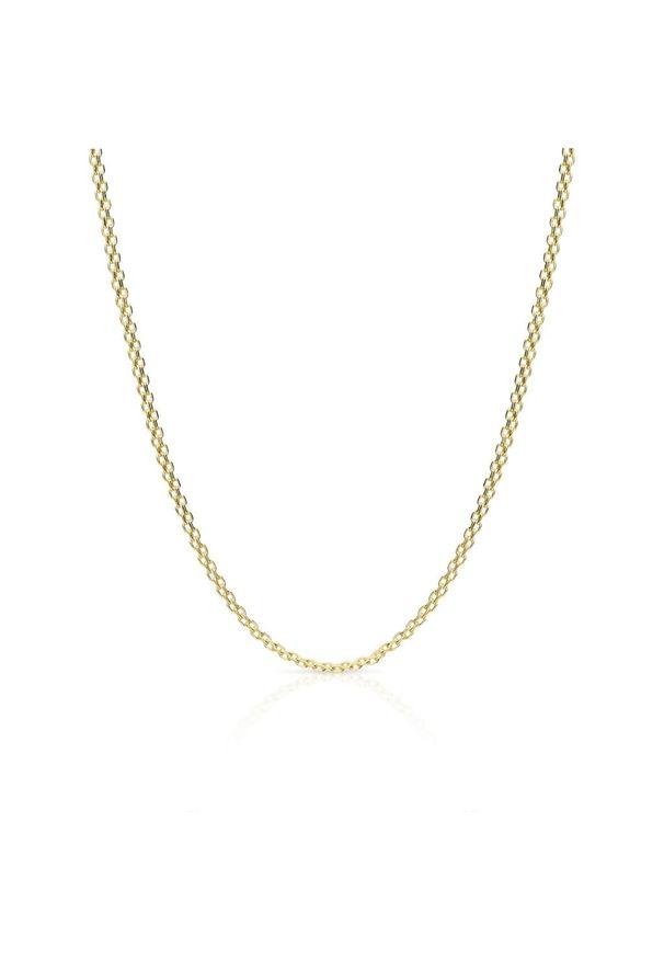 W.KRUK Wyjątkowy Łańcuszek Złoty - złoto 585 - ZSI/LC03. Materiał: złote. Kolor: złoty
