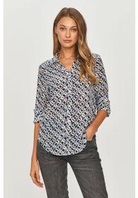 Niebieska koszula MAX&Co. klasyczna, z długim rękawem