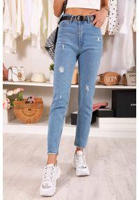 Niebieskie jeansy IVET