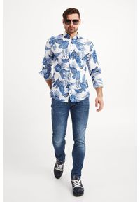 Koszula JOOP! Jeans elegancka, na co dzień