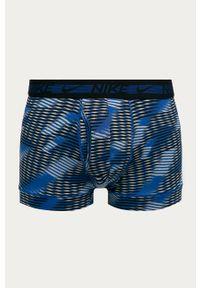 Niebieskie majtki Nike z nadrukiem