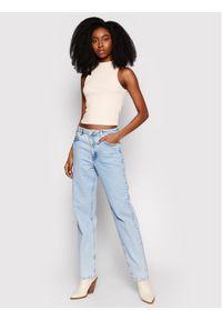 Niebieskie jeansy NA-KD
