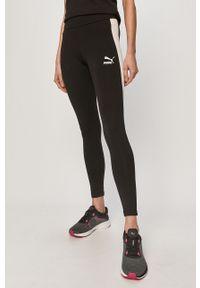 Czarne legginsy Puma z aplikacjami