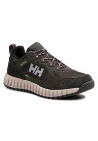 Zielone buty trekkingowe Helly Hansen trekkingowe