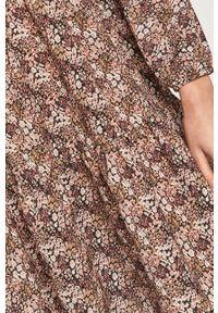 Wielokolorowa sukienka Haily's na co dzień, z długim rękawem