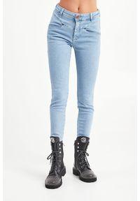 JEANSY HIGH WAIST PREACHERS ONETEASPOON. Stan: podwyższony. Materiał: jeans. Styl: klasyczny #6