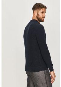 Niebieski sweter Pepe Jeans na co dzień, długi, z długim rękawem