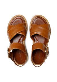 Brązowe sandały See By Chloé