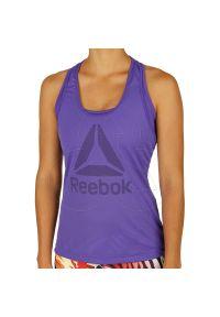 T-shirt Reebok elegancki, z krótkim rękawem