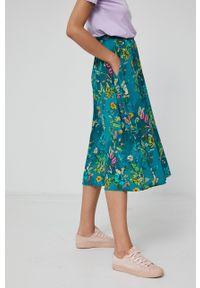 medicine - Medicine - Spódnica Commercial. Stan: podwyższony. Kolor: zielony. Materiał: tkanina