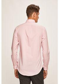 Różowa koszula Polo Ralph Lauren polo, na co dzień
