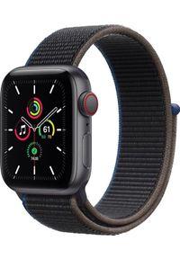 APPLE - Smartwatch Apple Watch SE Nike GPS + Cellular 40mm Gray Alu Black Loop Czarny (MYEL2WB/A). Rodzaj zegarka: smartwatch. Kolor: czarny