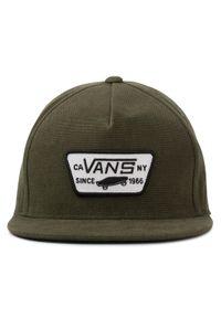 Zielona czapka z daszkiem Vans
