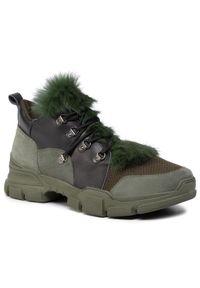 Zielone buty sportowe Eva Minge