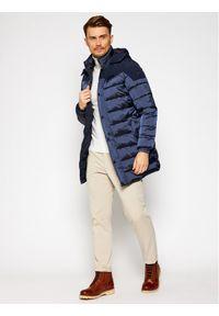 Niebieska kurtka puchowa Invicta