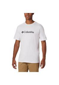 Biała koszulka sportowa columbia