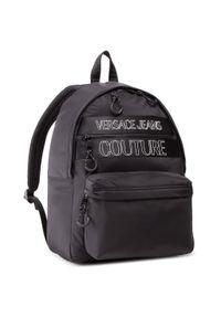 Versace Jeans Couture - Plecak VERSACE JEANS COUTURE - E1YWABA1 71895 899. Kolor: czarny. Materiał: materiał