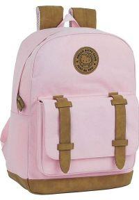 Różowy plecak na laptopa Hello Kitty z motywem z bajki