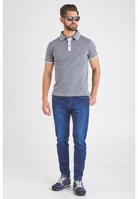 Trussardi Jeans - POLO trussardi jeans. Typ kołnierza: polo. Styl: elegancki