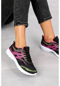 Czarne buty sportowe Casu #1