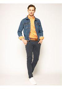 Pomarańczowa koszula casual Polo Ralph Lauren polo