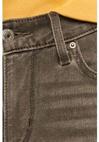 Szare jeansy Levi's® w kolorowe wzory, na spotkanie biznesowe, biznesowe