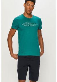 Zielona piżama Henderson z nadrukiem