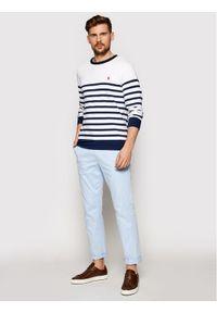 Polo Ralph Lauren Bluza Lsl 710835762001 Biały Regular Fit. Typ kołnierza: polo. Kolor: biały