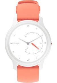 Pomarańczowy zegarek WITHINGS smartwatch