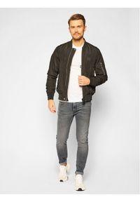 Lee Jeansy Slim Fit Luke L719PYMO Szary Slim Fit. Kolor: szary. Materiał: jeans #5