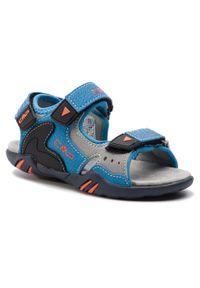 Niebieskie sandały CMP na lato, klasyczne
