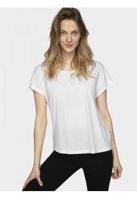 outhorn - T-shirt damski. Materiał: jersey, wiskoza, dzianina, poliester