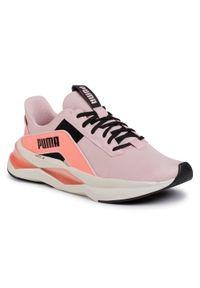 Różowe buty do fitnessu Puma z cholewką, na co dzień