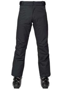 Rossignol - ROSSIGNOL Spodnie narciarskie męskie SKI Black. Sport: narciarstwo