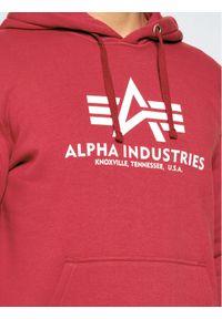Czerwona bluza Alpha Industries