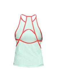 Koszulka damska do biegania Under Armour Qualifier Iso-Chill 1353466. Materiał: skóra, włókno, nylon, materiał. Wzór: gładki. Sport: fitness, bieganie