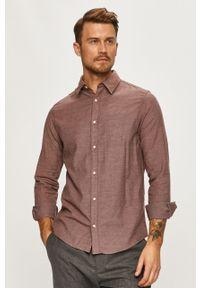 Koszula PRODUKT by Jack & Jones z klasycznym kołnierzykiem, długa, na co dzień, z długim rękawem