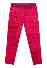 Różowe legginsy Desigual
