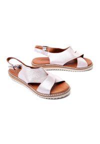 Różowe sandały Lanqier
