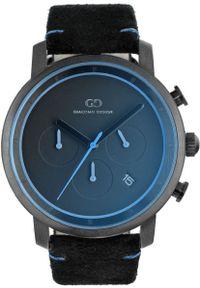 Czarny zegarek Giacomo Design