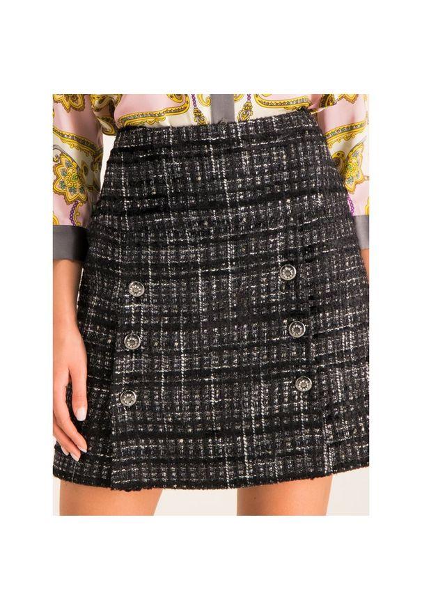 Czarna spódnica mini Luisa Spagnoli