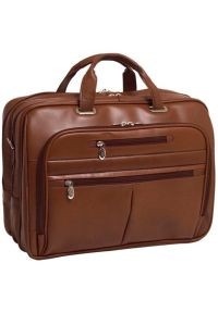Torba na laptopa MCKLEIN Rockford 17 cali Brązowy. Kolor: brązowy. Styl: biznesowy
