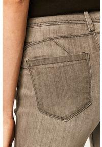 Szare jeansy ANSWEAR