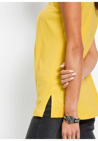 Top bonprix żółty tulipan - srebrny. Kolor: żółty #4