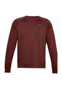 Bluza męska Under Armour Rival Fleece Crew 1357096. Materiał: bawełna, poliester, polar, prążkowany. Długość rękawa: raglanowy rękaw. Wzór: jednolity. Sport: fitness