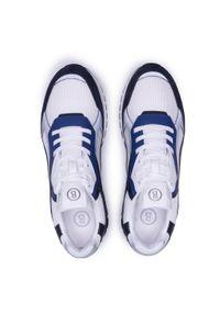Bogner - Sneakersy BOGNER - Michigan 1 12120645021 Navy/White 021. Okazja: na co dzień, na spacer. Kolor: biały. Materiał: zamsz, materiał, skóra. Szerokość cholewki: normalna. Styl: casual, klasyczny, sportowy