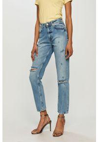 Niebieskie jeansy loose fit Silvian Heach klasyczne
