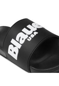 Czarne klapki Blauer