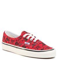 Czerwone buty sportowe Vans Vans Era